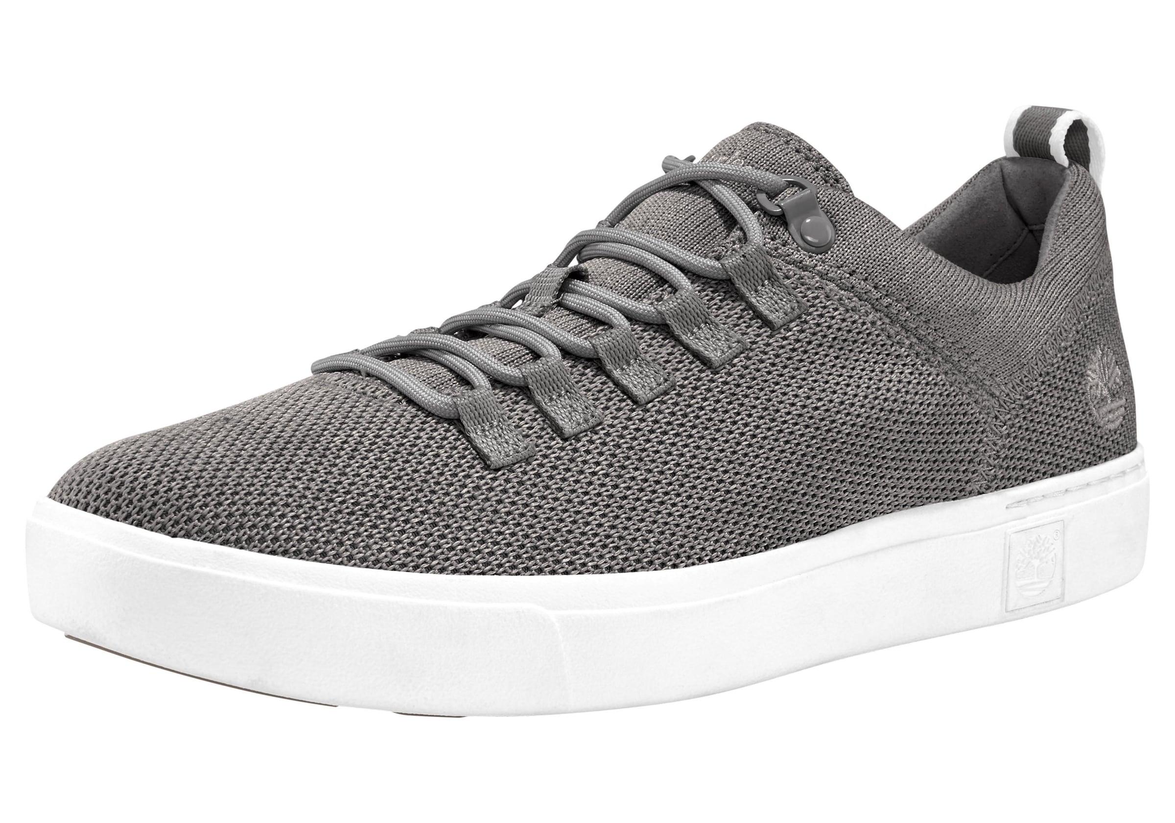 Timberland Amherst Flexi Knit Oxford Sneaker Castlerock   9 (US)