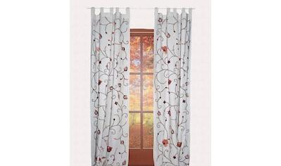 HOSSNER - ART OF HOME DECO Vorhang »Grundlsee«, rustikaler Shabby-Look kaufen