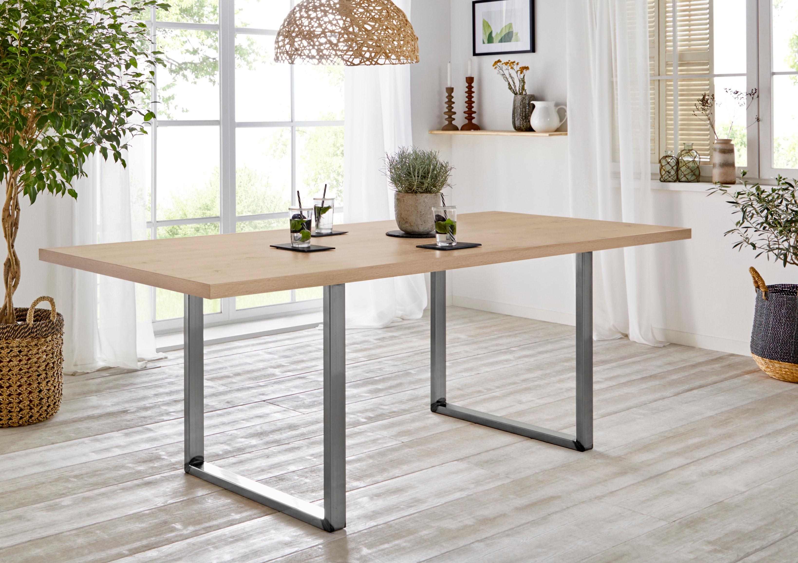 FORTE Esstisch, Breite 180 cm braun Esstisch Esstische rechteckig Tische