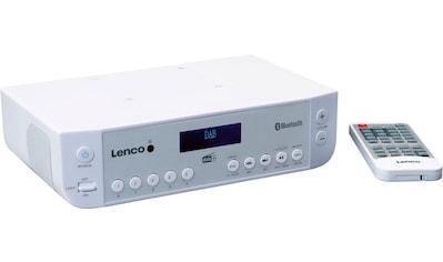 Lenco Küchen-Radio »KCR-200«, (Bluetooth Digitalradio (DAB+)-FM-Tuner mit RDS) kaufen