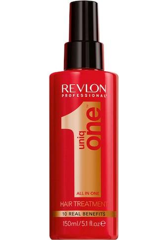 REVLON PROFESSIONAL Leave-in Pflege »Uniq One All in one Hair Treatment«, repariert... kaufen