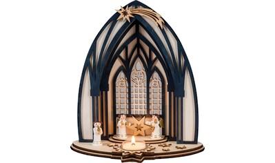 HGD Holz - Glas - Design Engelsymphonie aus Holz für ein Teelicht kaufen