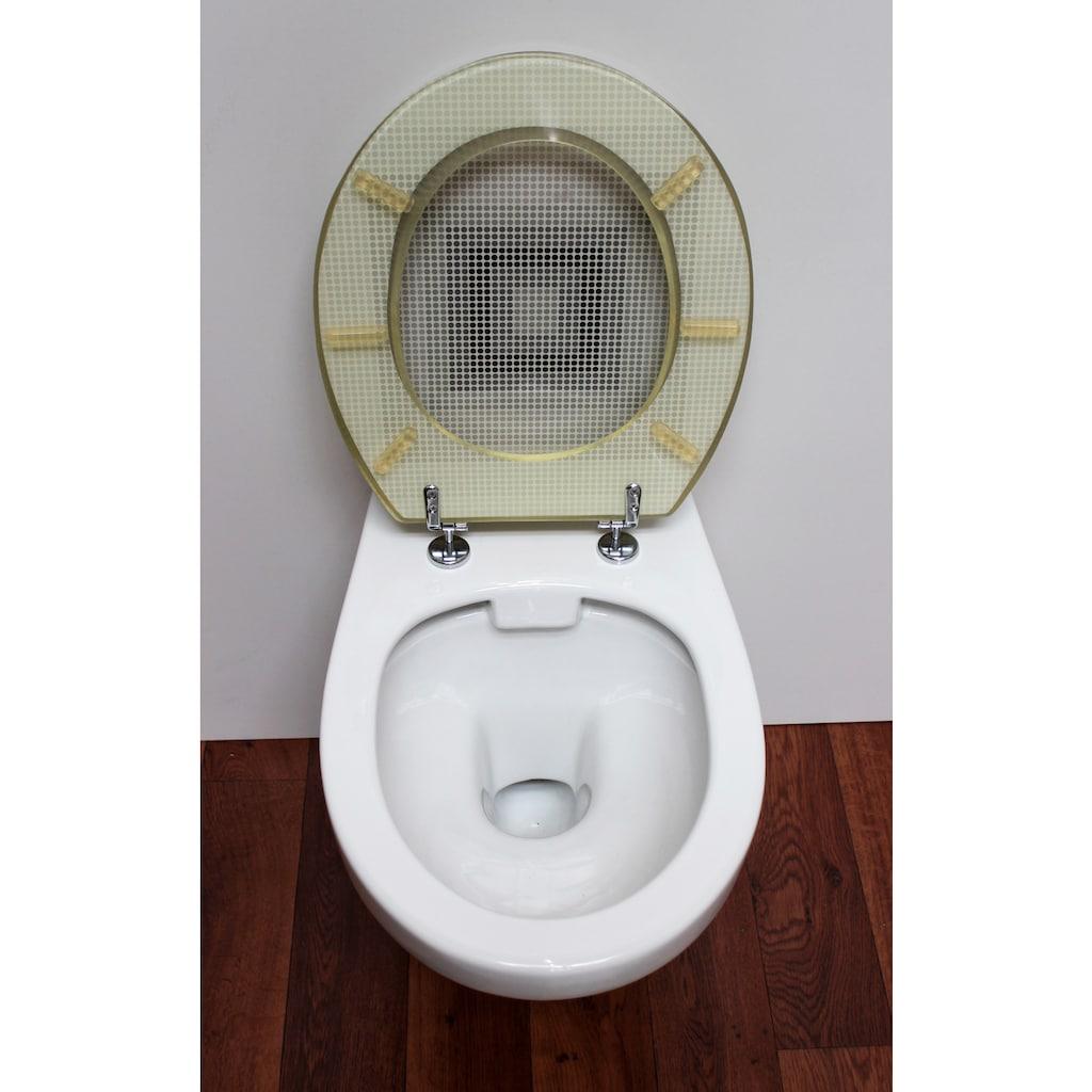 ADOB WC-Sitz »New York«, mit Metallscharnieren