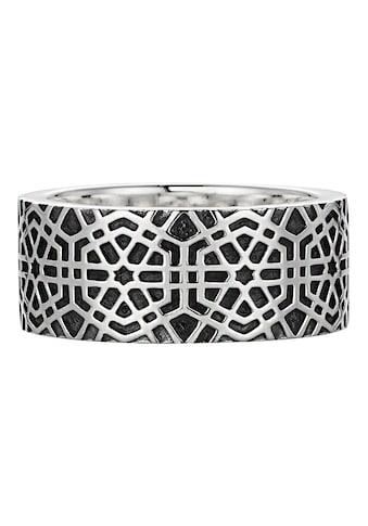 CAÏ Ring »925/- Sterling Silber oxidiert-poliert Mosaik« kaufen
