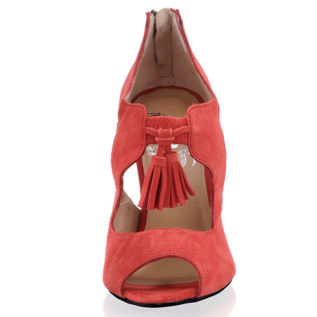 Alba Moda Pumps mit Peep-Toe und Cut-Outs