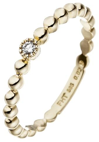 JOBO Diamantring, 585 Gold mit Diamant 0,02 ct. kaufen