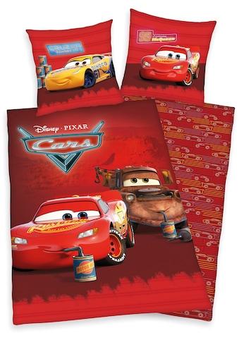 Walt Disney Kinderbettwäsche »Disney´s Cars«, mit tollem Lightning McQueen-Motiv kaufen
