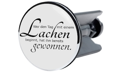 Sanilo Waschbeckenstöpsel »Lachen«, Ø 4 cm kaufen