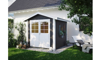 Kiehn - Holz Gartenhaus »Aschberg 2«, BxT: 272x272 cm, inkl. Fußboden kaufen