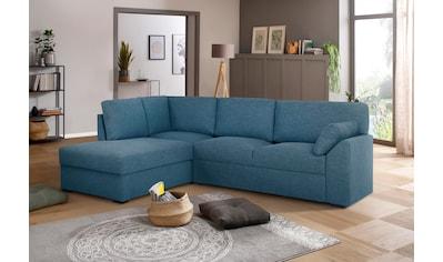 Premium collection by Home affaire Ecksofa »Garda«, Ottomanenabschluß mit... kaufen