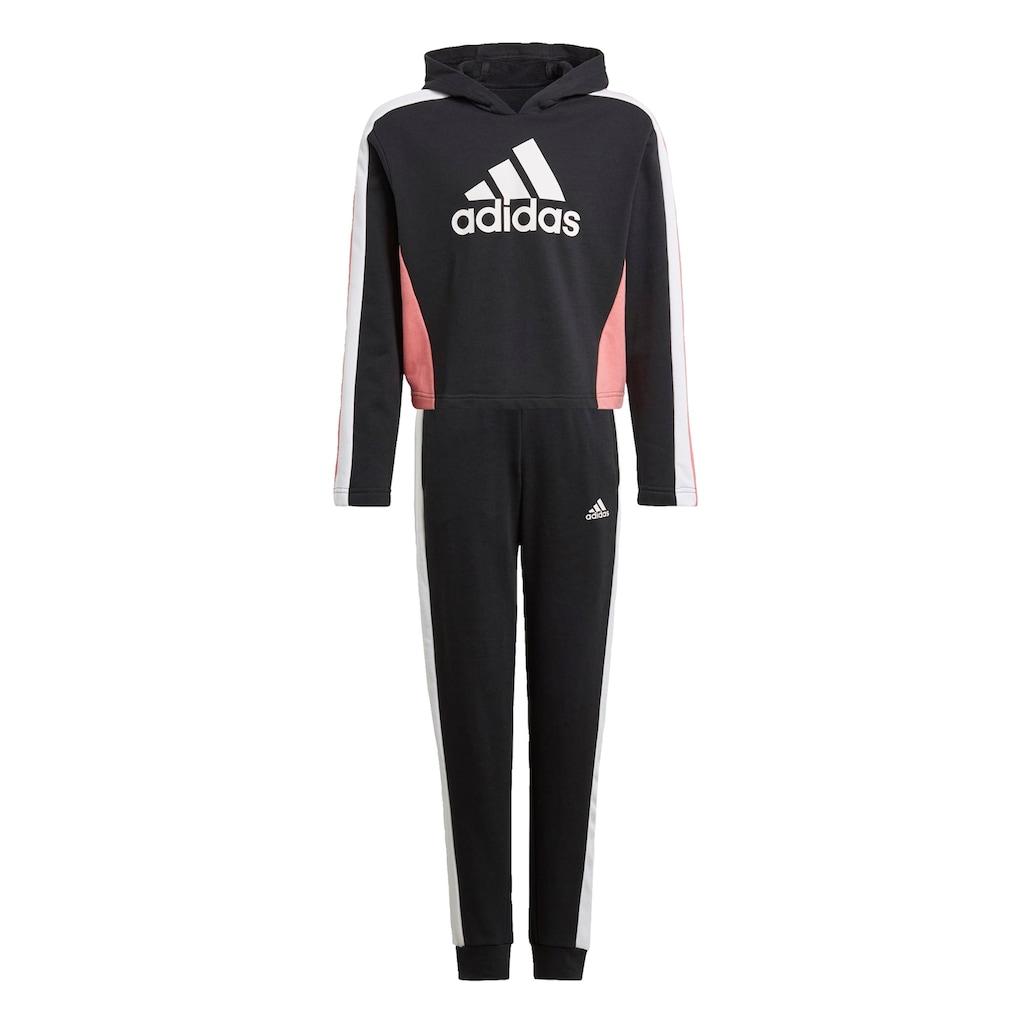 adidas Performance Trainingsanzug »COLORBLOCK CROP TOP«