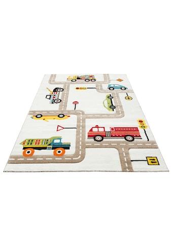 Kinderteppich, »Strassen«, Lüttenhütt, rechteckig, Höhe 13 mm, maschinell gewebt kaufen
