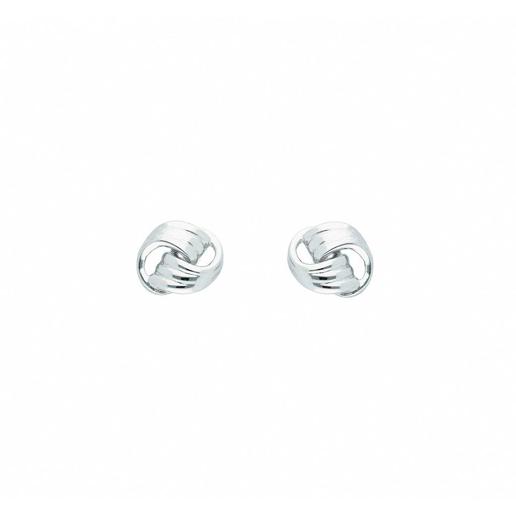 Adelia´s Paar Ohrhänger »333 Weißgold Ohrringe / Ohrstecker«, 333 Gold Goldschmuck für Damen