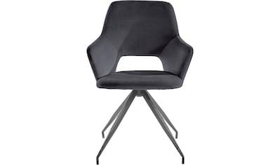 INOSIGN Armlehnstuhl »Tracy«, im 1er und 2er Set erhältlich, mit schwarze... kaufen