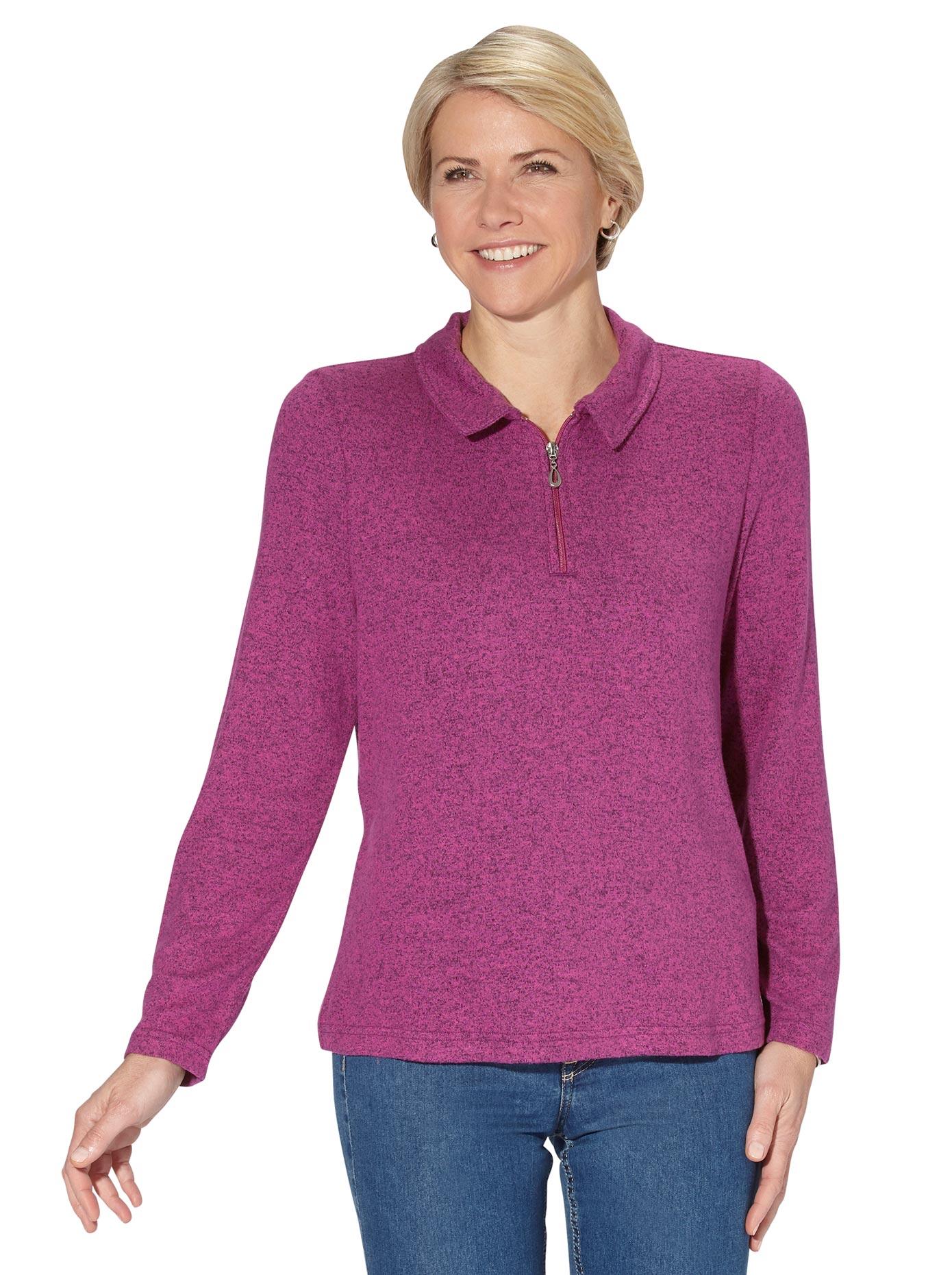 classic basics -  Langarm-Poloshirt