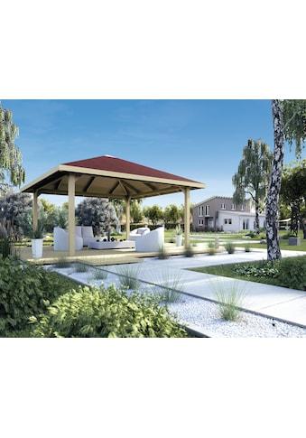 weka Pavillon »Paradies 2«, BxT: 380x380 cm kaufen