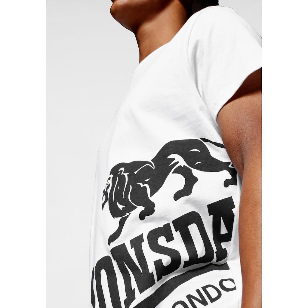 Lonsdale T-Shirt »DEREHAM«