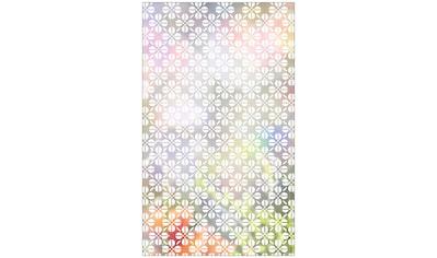 MySpotti Fensterfolie »Look Grafik Blumenmuster white«, halbtransparent, glattstatisch... kaufen