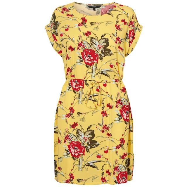 Vero Moda Sommerkleid Vmsimply Easy Short Dress Aus Viskose Fur Damen Kaufen Baur