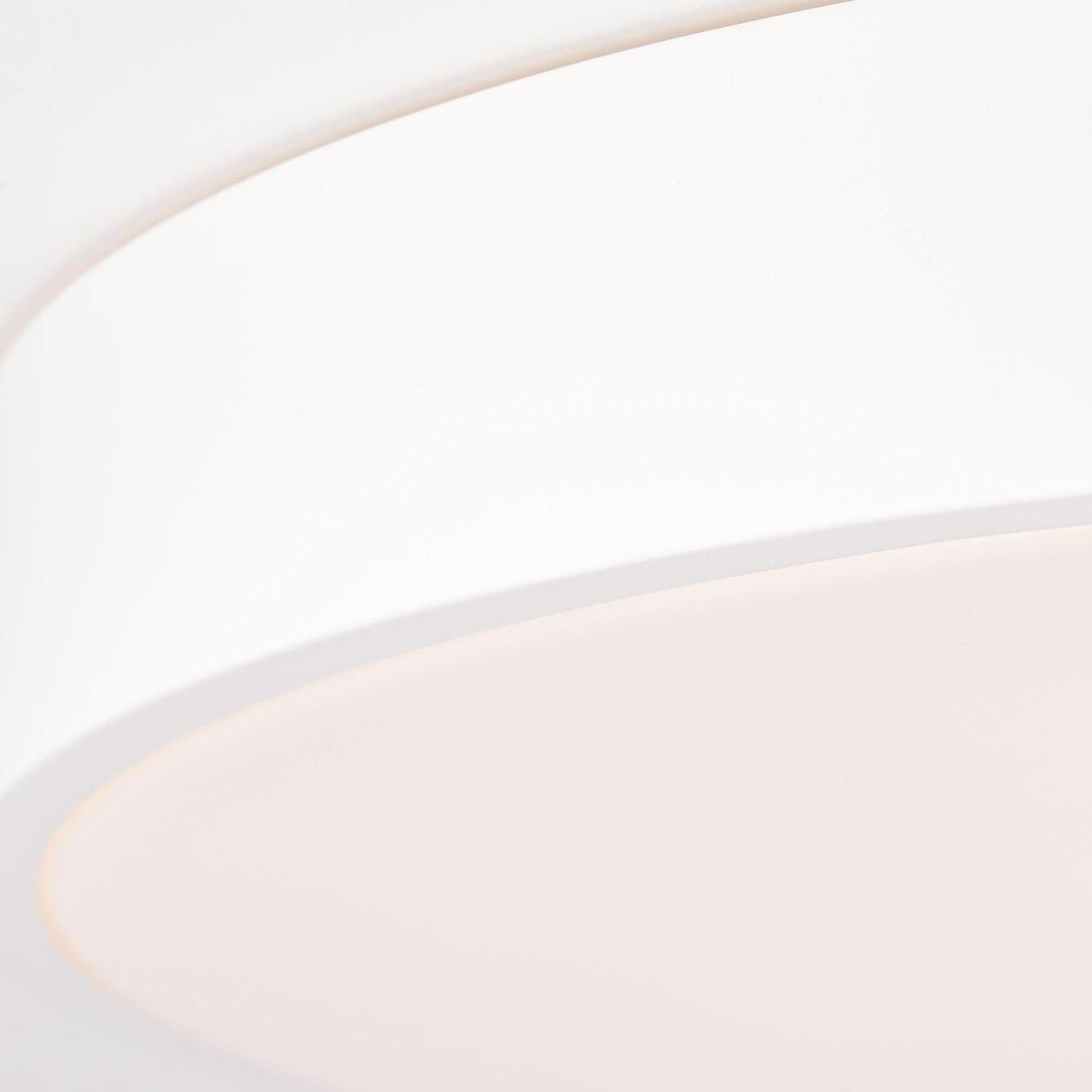 Brilliant Leuchten Deckenleuchten, Slimline LED Wand- und Deckenleuchte 49cm sand/weiß