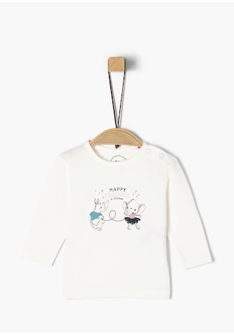 s.Oliver Langarmshirt_für Babys kaufen