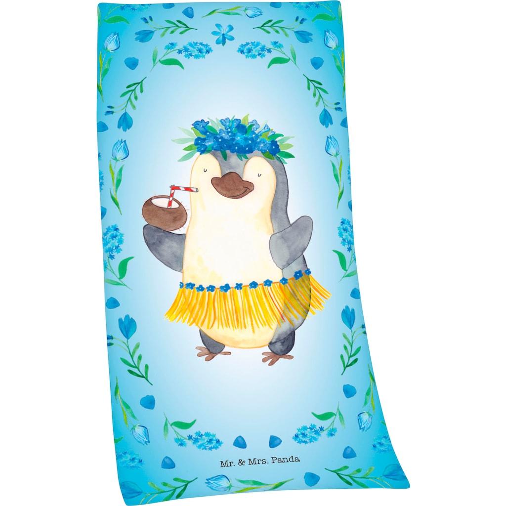 Badetuch »Mr. & Mrs. Panda«, (1 St.), mit niedlichem Motiv in Pastellfarben beruckt