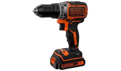 BLACK + DECKER Akku - Bohrschrauber »BL186K / BL186KB«, 18V, 1,5 Ah, LED - Arbeitslicht, inkl. Akku kaufen