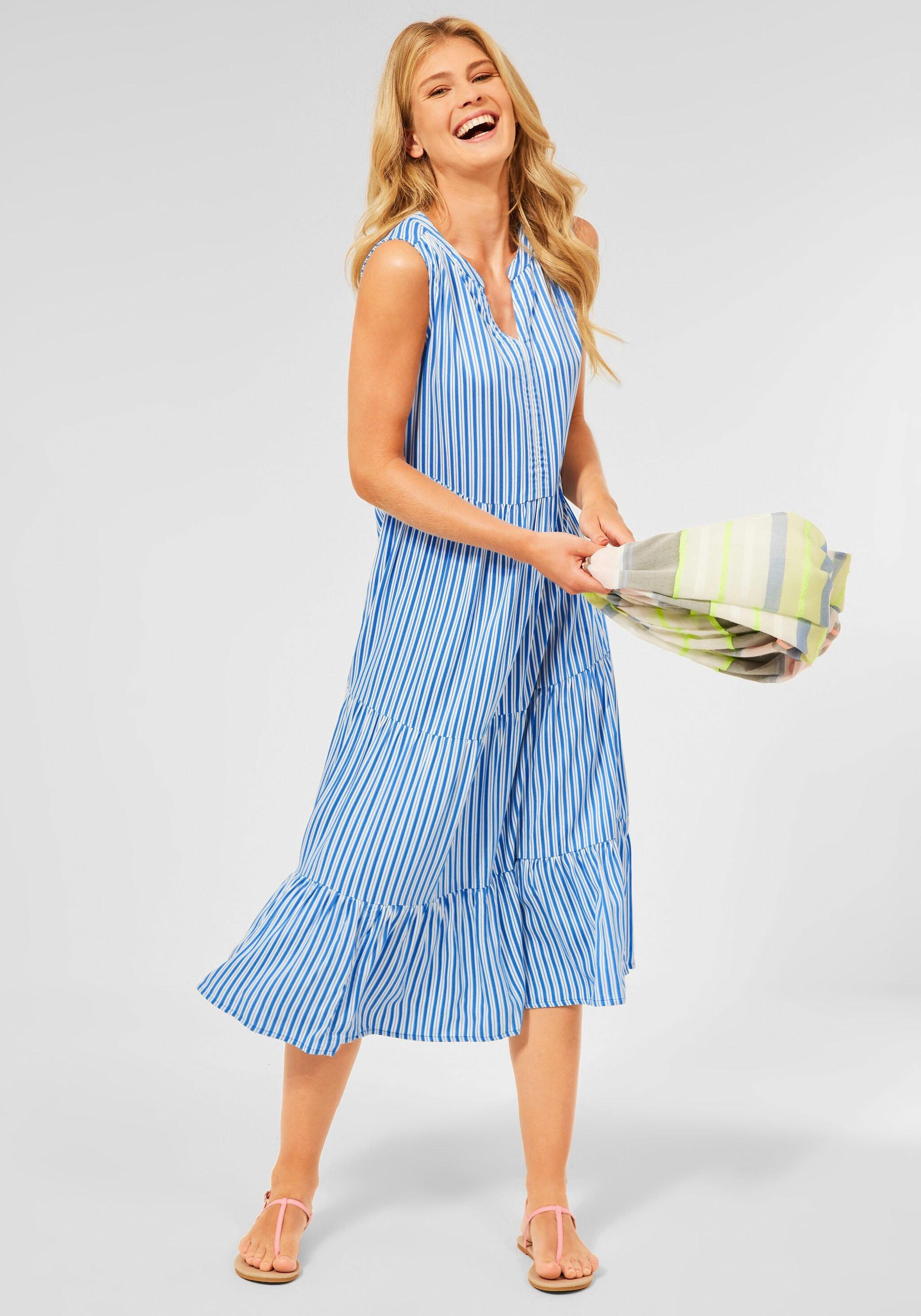 cecil -  Sommerkleid, mit maritimem Streifenmuster