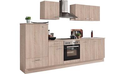 Menke Küchen Küchenzeile »Classic«, Küchenzeile mit E-Geräten, Breite 280 cm kaufen