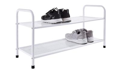 Schuhregal aus stabilem Metall kaufen