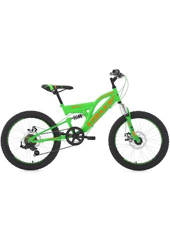 KS Cycling Jugendfahrrad »XTRAXX«, 7 Gang Shimano Tourney Schaltwerk, Kettenschaltung kaufen