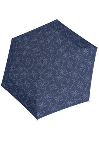"doppler® Taschenregenschirm ""Carbonsteel Mini Slim Bloom, dunkelblau"" kaufen"