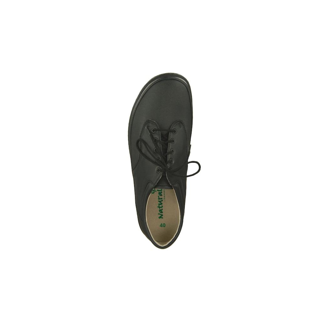 Natural Feet Schnürschuh »Paris«, mit komfortabler J-Weite