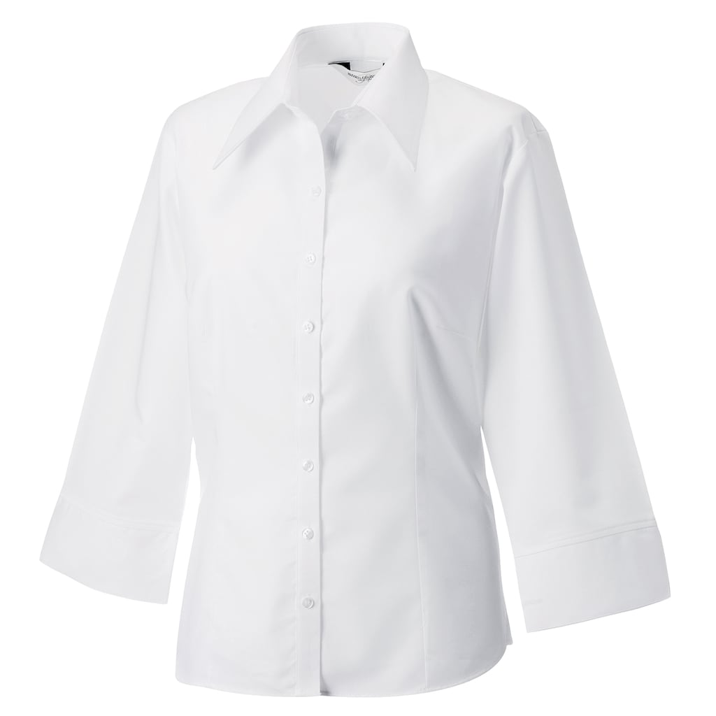 Russell 3/4-Arm-Shirt »Collection Damen Bluse Fitted 3/4 Armlänge«