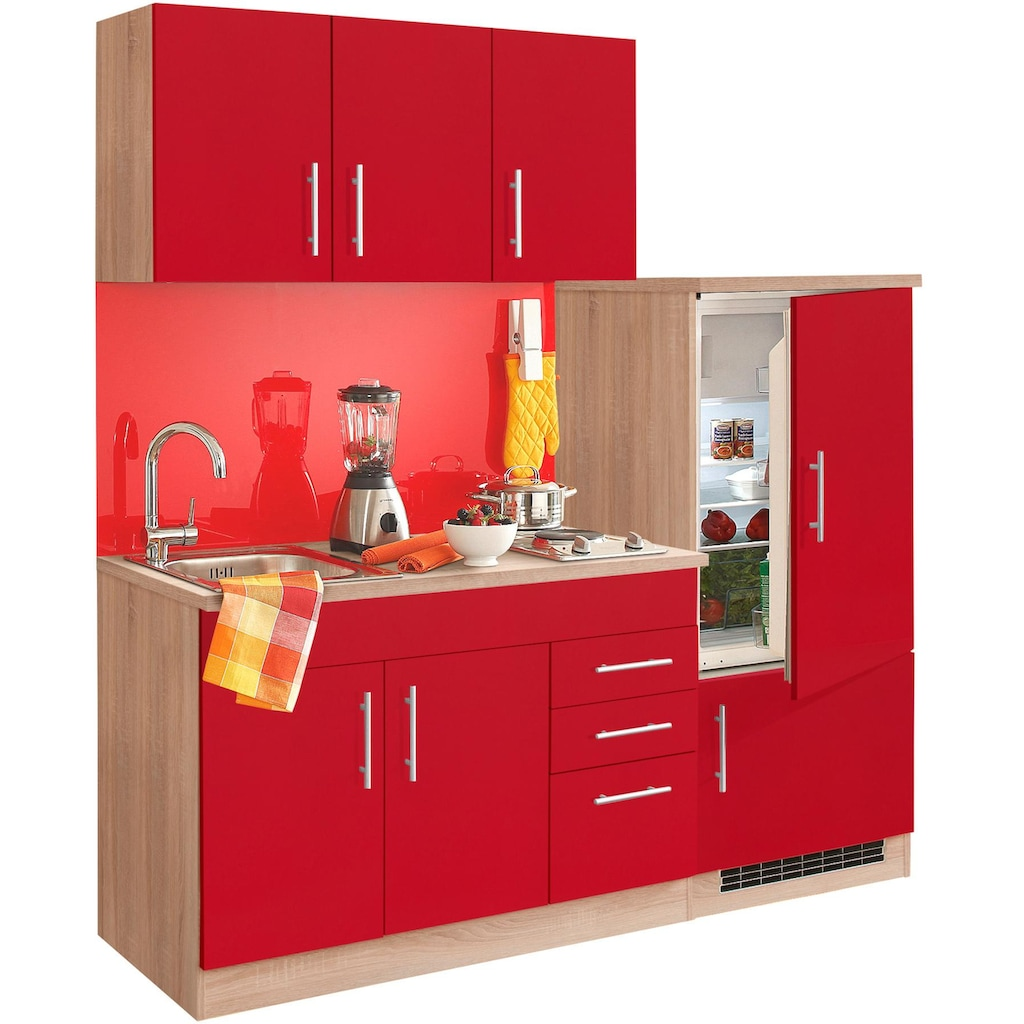 HELD MÖBEL Küchenzeile »Toledo«, mit E-Geräten, Breite 180 cm