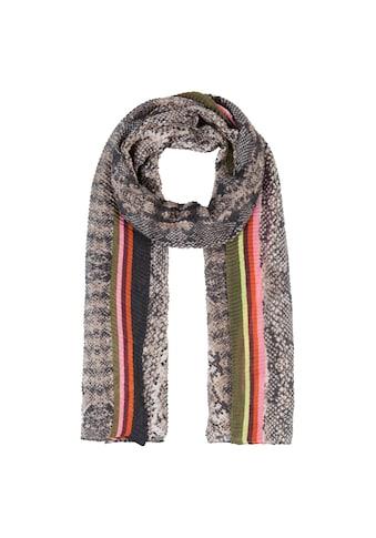 Codello Plissee - Schal mit Schlangen - Print kaufen