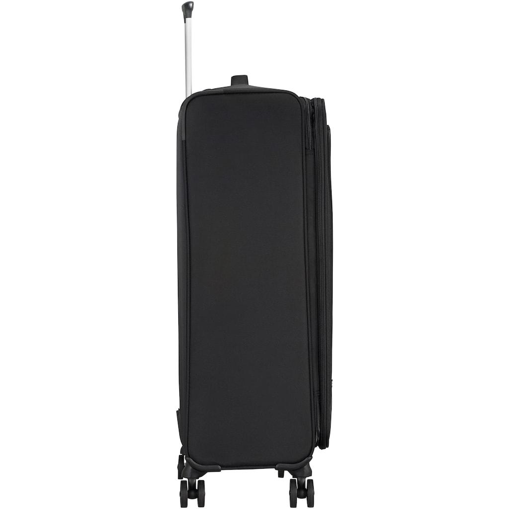 American Tourister® Weichgepäck-Trolley »Crosstrack, 79 cm«, 4 Rollen, mit Volumenerweiterung