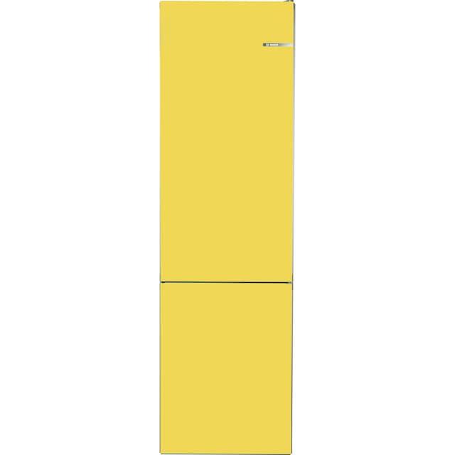 BOSCH Kühl-/Gefrierkombination Serie 4, 203 cm hoch, 60 cm breit