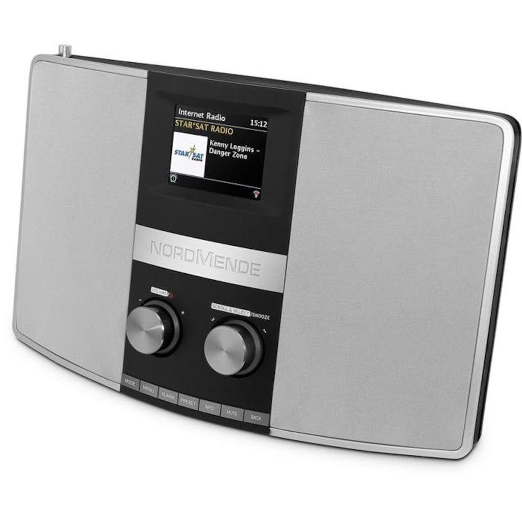 Nordmende Stereo Internetradio, UKW und DAB+ Digitalradio
