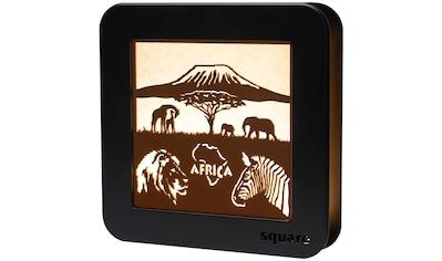 Weigla LED Dekolicht »Standbild Afrca«, 1 St., Neutralweiß, beidseitiges Motiv/... kaufen