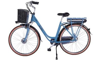 LLobe E-Bike »Blue Motion 2.0, 15,6Ah«, (mit Fahrradkorb) kaufen