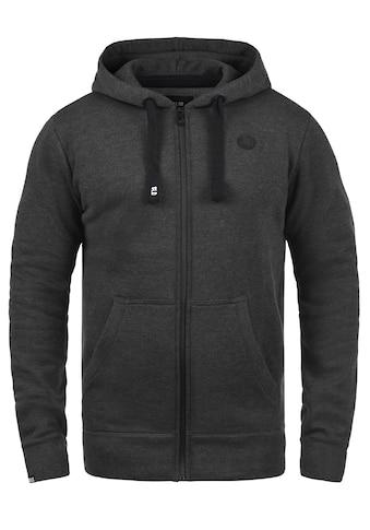 Solid Kapuzensweatjacke »Bene Zip«, Sweatshirtjacke mit weicher Fleece-Innenseite kaufen