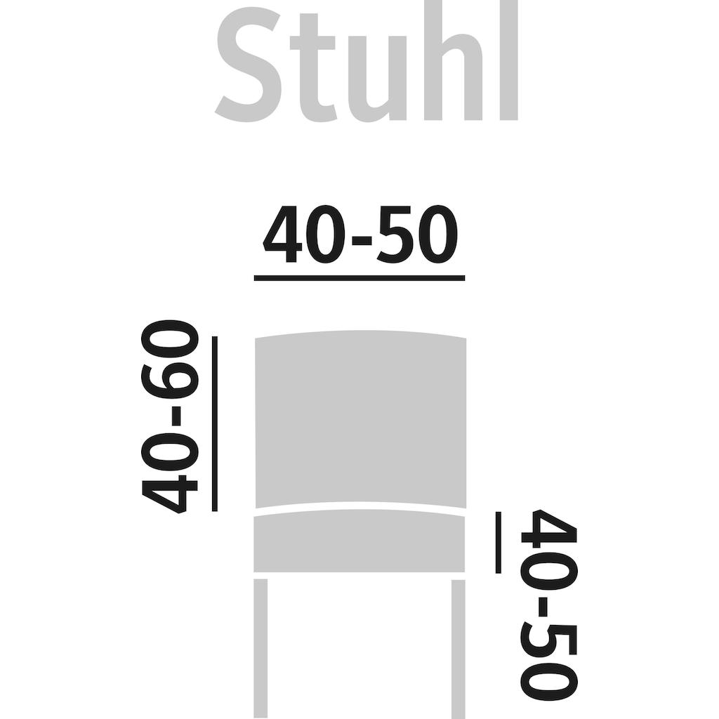 GAICO Stuhlhusse »Paula«, in fein gemusterter Struktur-Optik