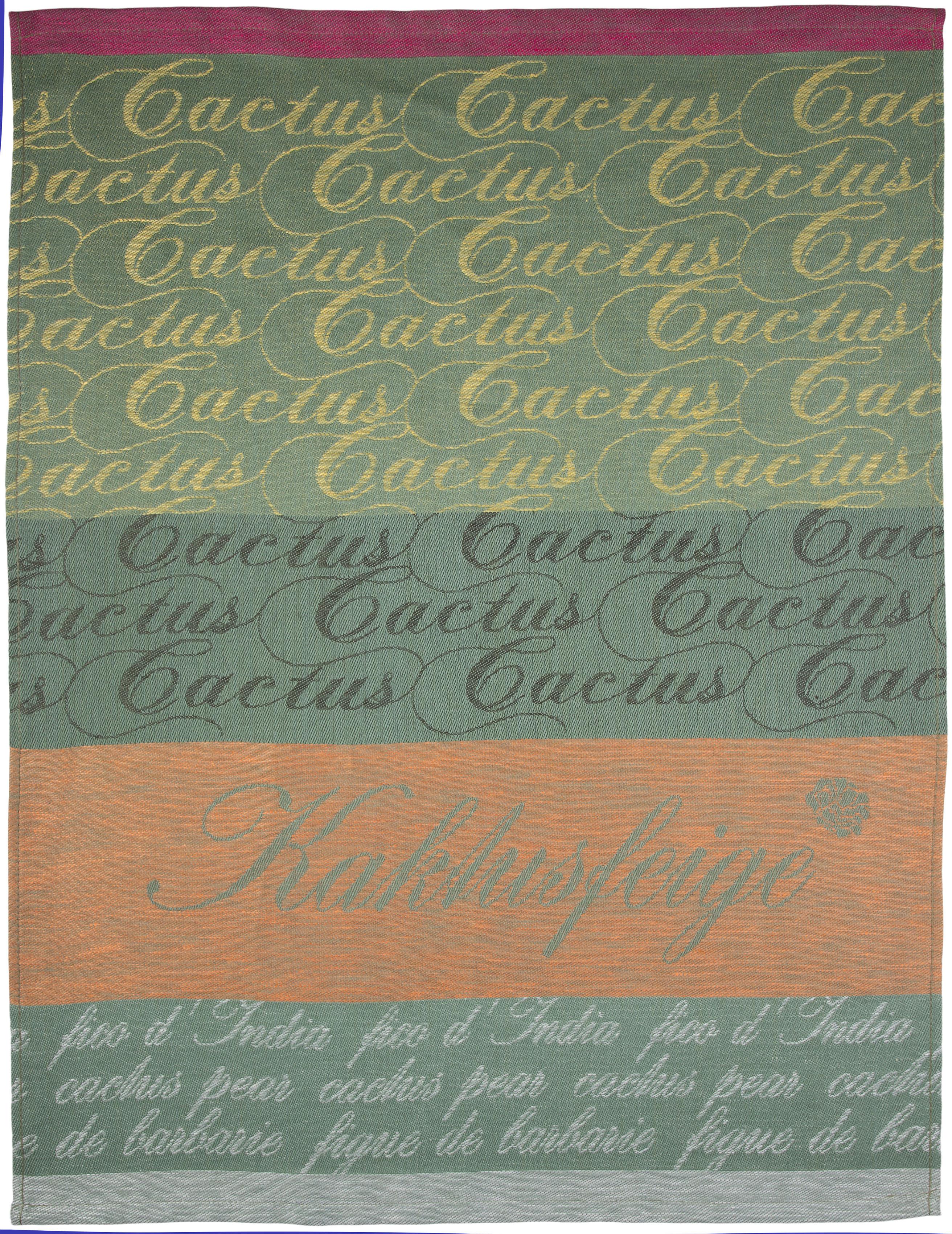 stuco Geschirrtuch Kaktus, (Set, 3 tlg.), Jacquardgewebe grün Geschirrtücher Küchenhelfer Haushaltswaren