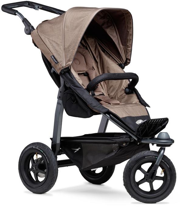 tfk Dreirad-Kinderwagen Sportbuggy mono, 34 kg, ; Kinderwagen, Jogger, Dreiradwagen, Jogger-Kinderwagen, Dreiradkinderwagen braun Kinder Kinderwagen Buggies