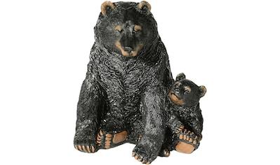 Home affaire Tierfigur »Schwarzbär mit Jungen« kaufen