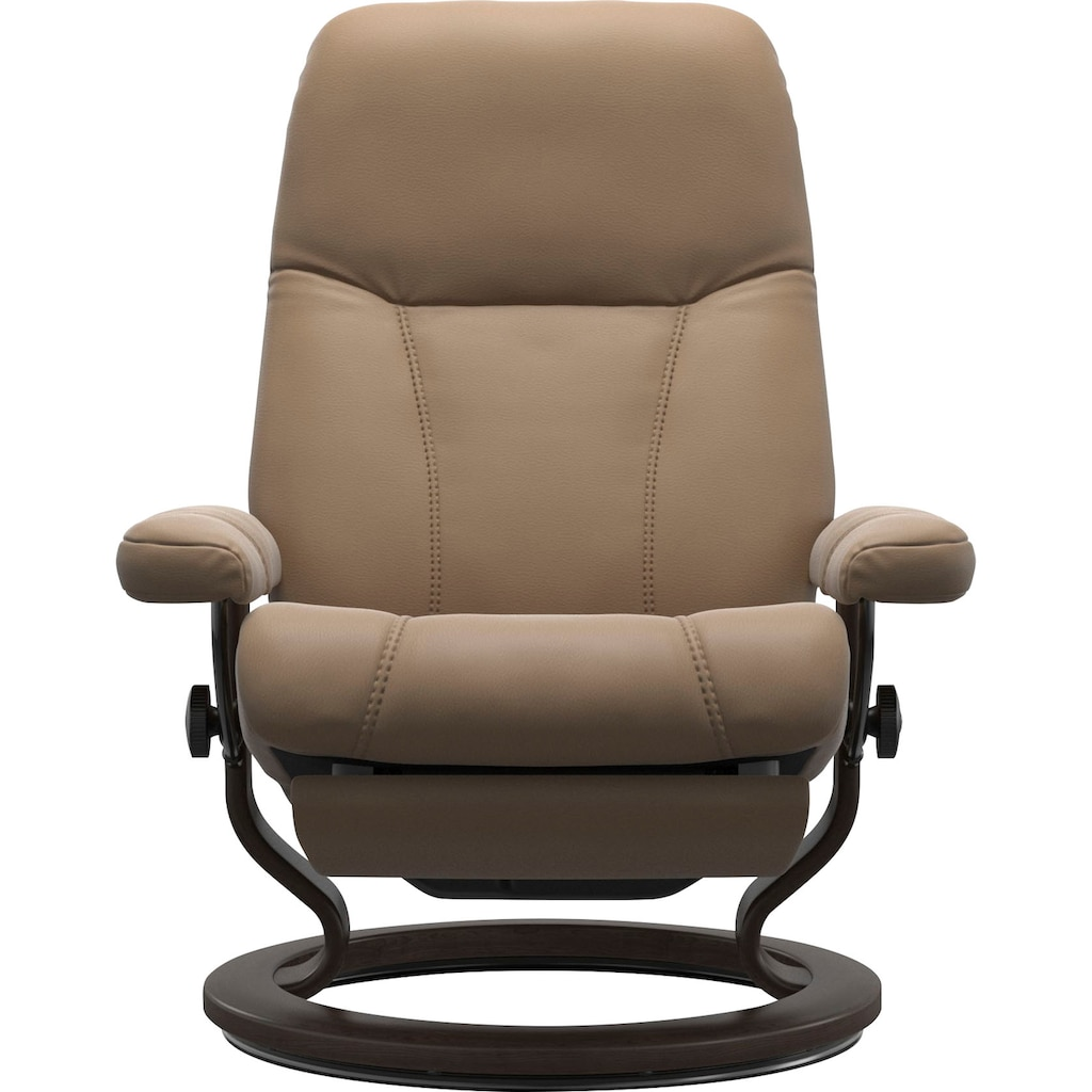 Stressless® Relaxsessel »Consul«, mit Classic Base und Power™, elektrisch verstellbar, optional 2-motorisch, Größe M & L, Gestell Wenge