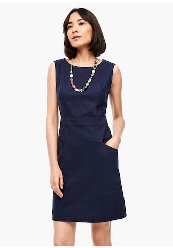 s.Oliver Leinenmix - Kleid kaufen