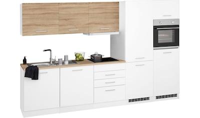 HELD MÖBEL Küchenzeile »Visby«, mit E-Geräten, Breite 300 cm kaufen