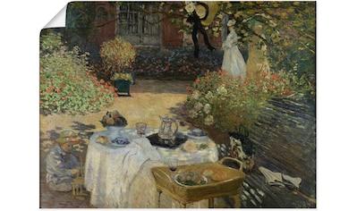 Artland Wandbild »Im Garten Claude Monets in Argenteuil« kaufen